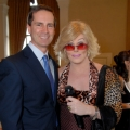 A fundraiser event with Joan Rivers welcoming Premier Dalton McGuinty