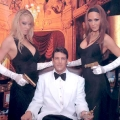 Bond character Pierce Brosnan & Bond girls