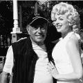 Marilyn look-a-like and ex-mayor Mel Lastman