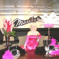 Marilyn Monroe at Diamond theme
