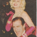 Marilyn Monroe look-a-like with politician Norm Kelley