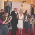 Marilyn and Academy Award winner Michael Westmore