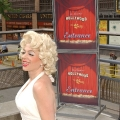 Marilyn look-a-like helps celebrate Hollywood at the Bay