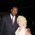Raptors coach Sam Mitchell & Marilyn Monroe