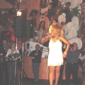Tina Turner look-a-like at event for Canada Post
