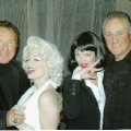 Tony & Phil Esposito with our Marilyn Monroe & Uma Thurman look-a-likes