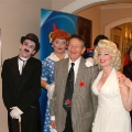 Walter Gretzky and his famous friends at an event