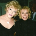 Joan Rivers impersonator works with the real Joan Rivers