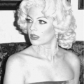 Marilyn Monroe impersonator