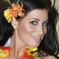 Promo models for Hawaiian themes