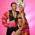 Salsa, Samba dance couple