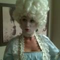 Victorian masquerade model